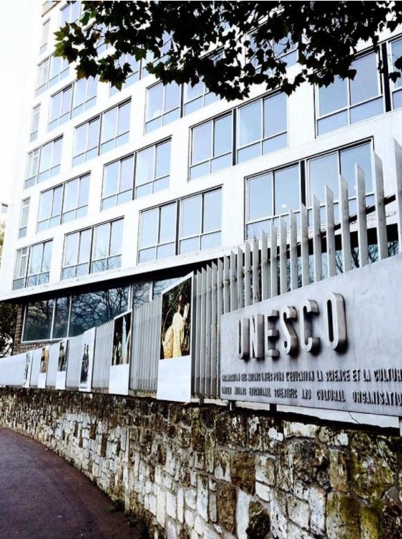 ユネスコ・パートナーズ・フォーラムの会場となったユネスコ本部(パリ)