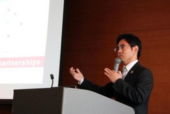 横井副学長による基調講演
