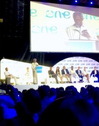 アナン国連前事務総長による全体セッション